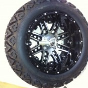 14 Inch Black MegaStar Wheels