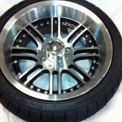 14 Inch Machined Laguna Wheel Set