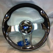 MadJax Custom Aluminum Volt Steering Wheel