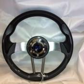 MadJax Custom Carbon Fiber Volt Steering Wheel