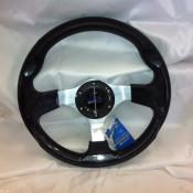 MadJax Custom Carbon Fiber Razor Steering Wheel