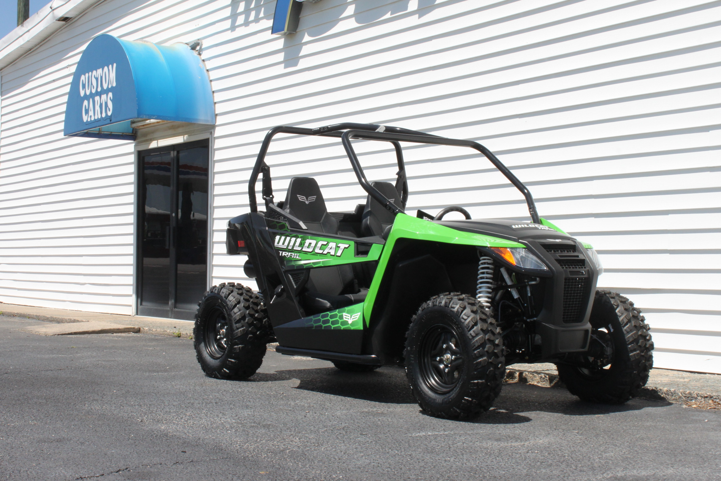 STOCK# 18WCTRLIME, 2018 TEXTRON OFF ROAD WILDCAT TRAIL UTV