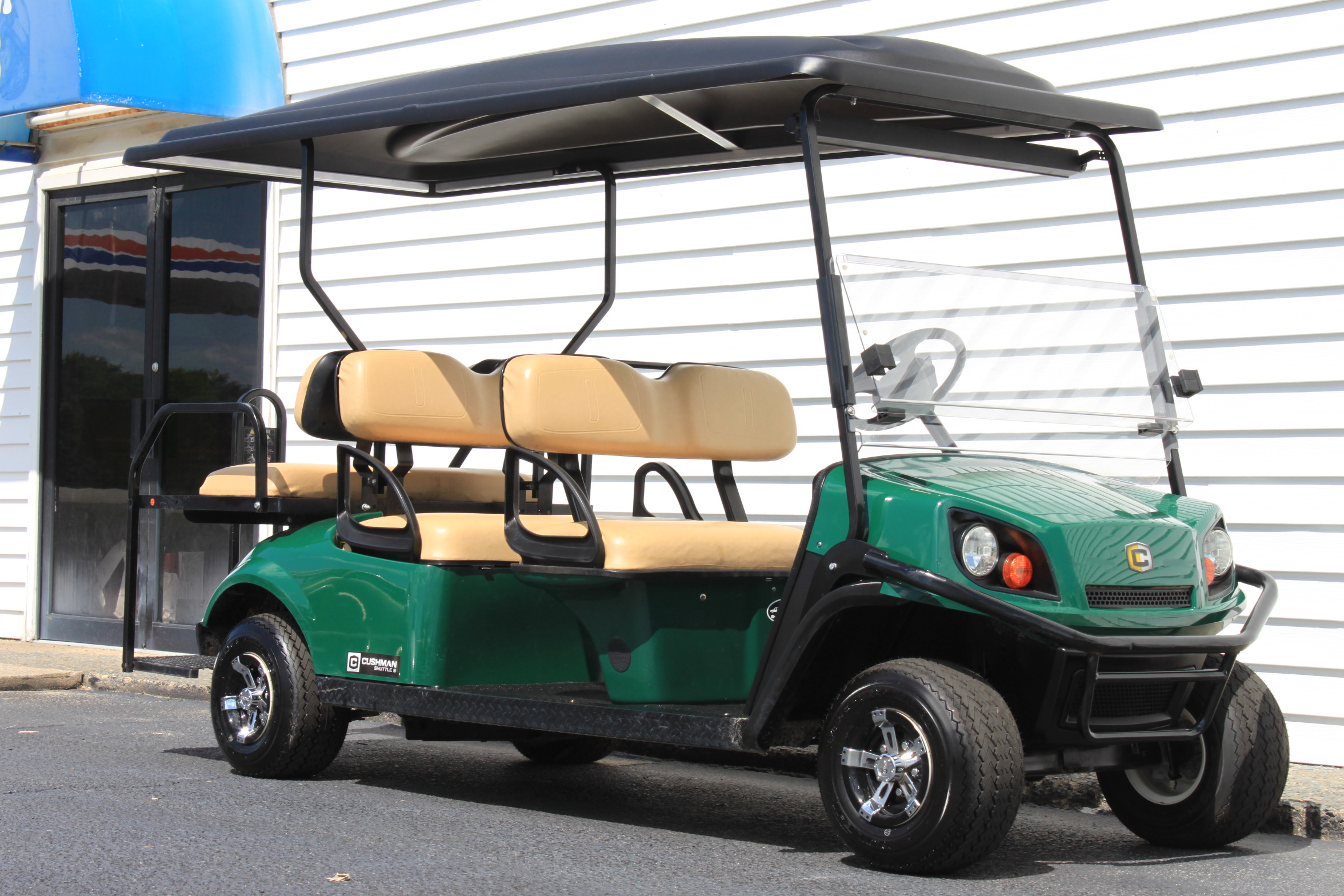 STOCK# 3187992, 2016 CUSHMAN 6 PASSENGER GAS CART