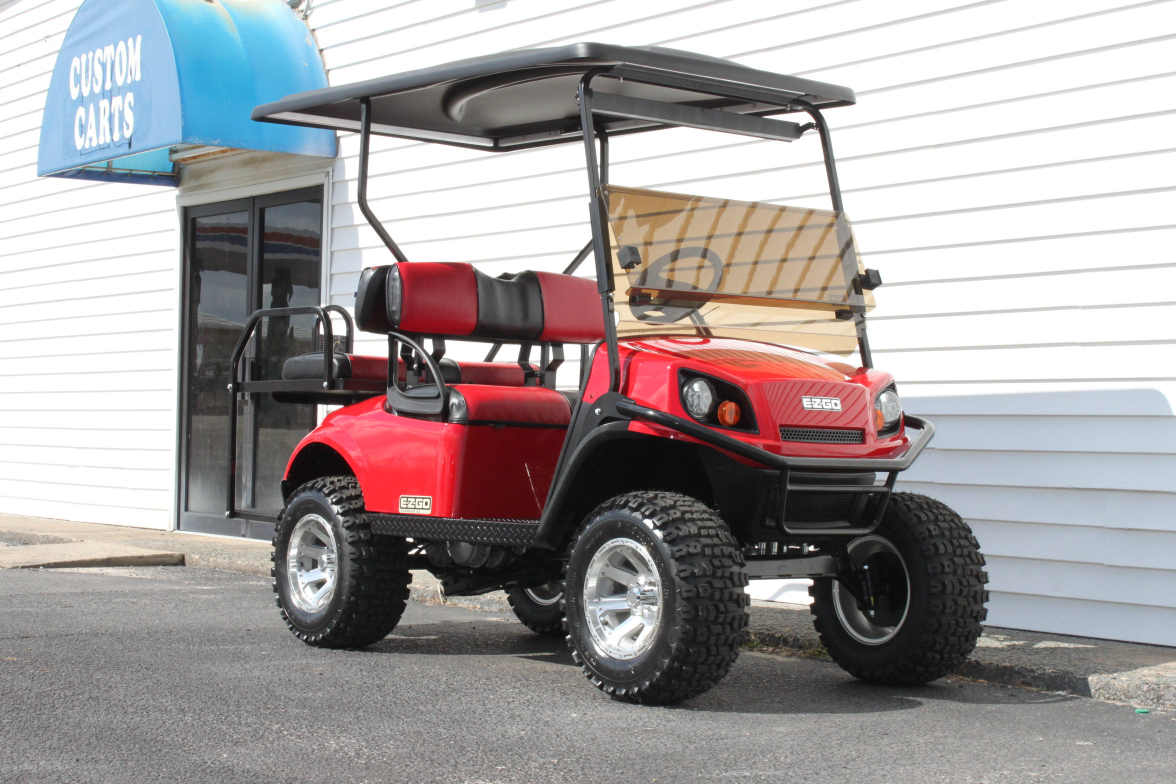 STOCK# 3389204, 2019 E-Z-GO S4 EXPRESS GAS GOLF CART
