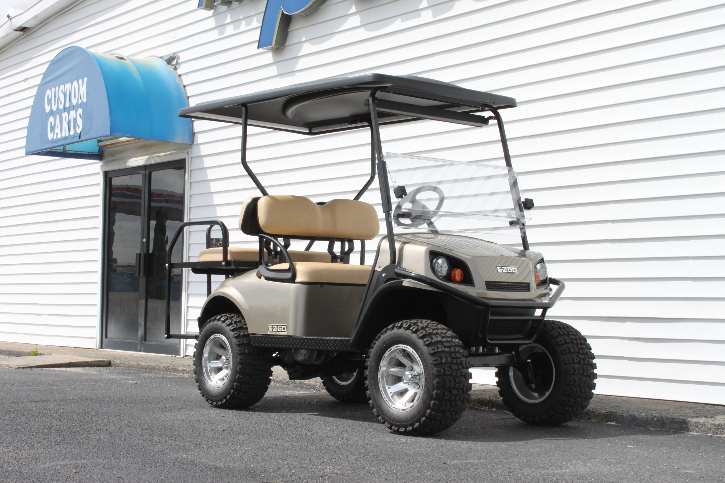 STOCK# 3389222, 2019 E-Z-GO S4 EXPRESS GAS GOLF CART