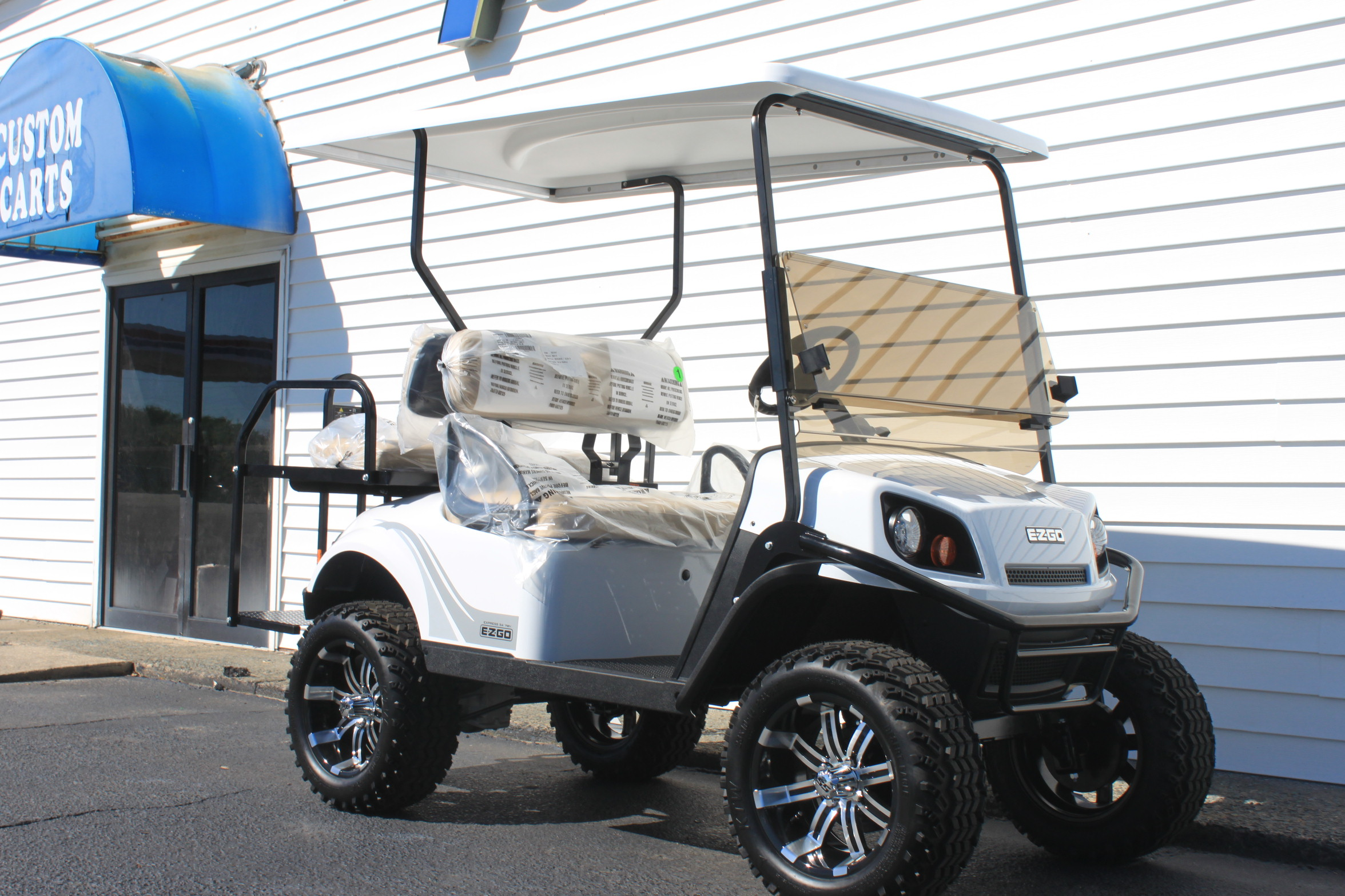 STOCK# 3455142, 2020 E-Z-GO S4 EXPRESS 72 VT GOLF CART