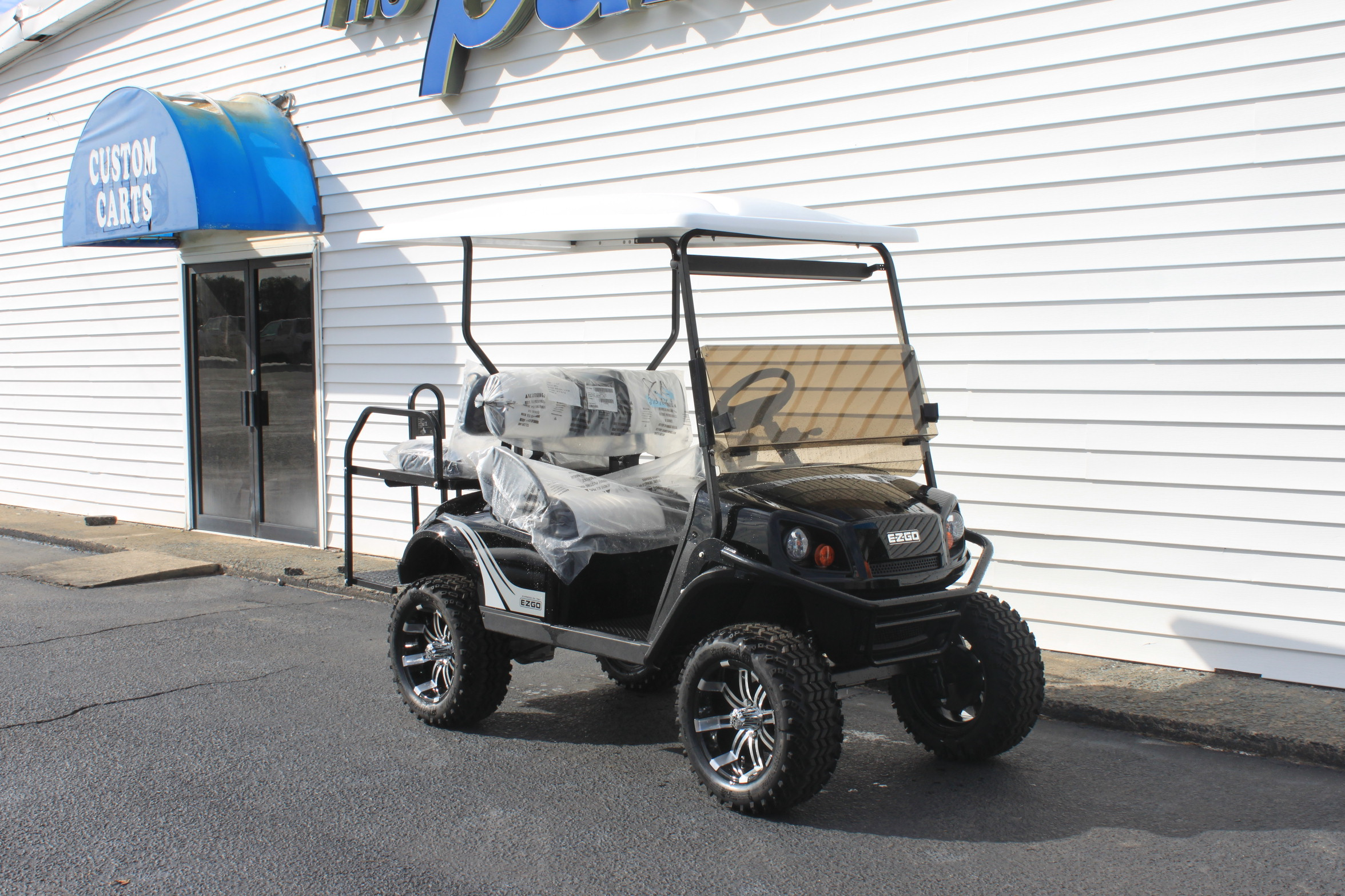 STOCK# 3455314, 2020 E-Z-GO S4 72 VT GOLF CART
