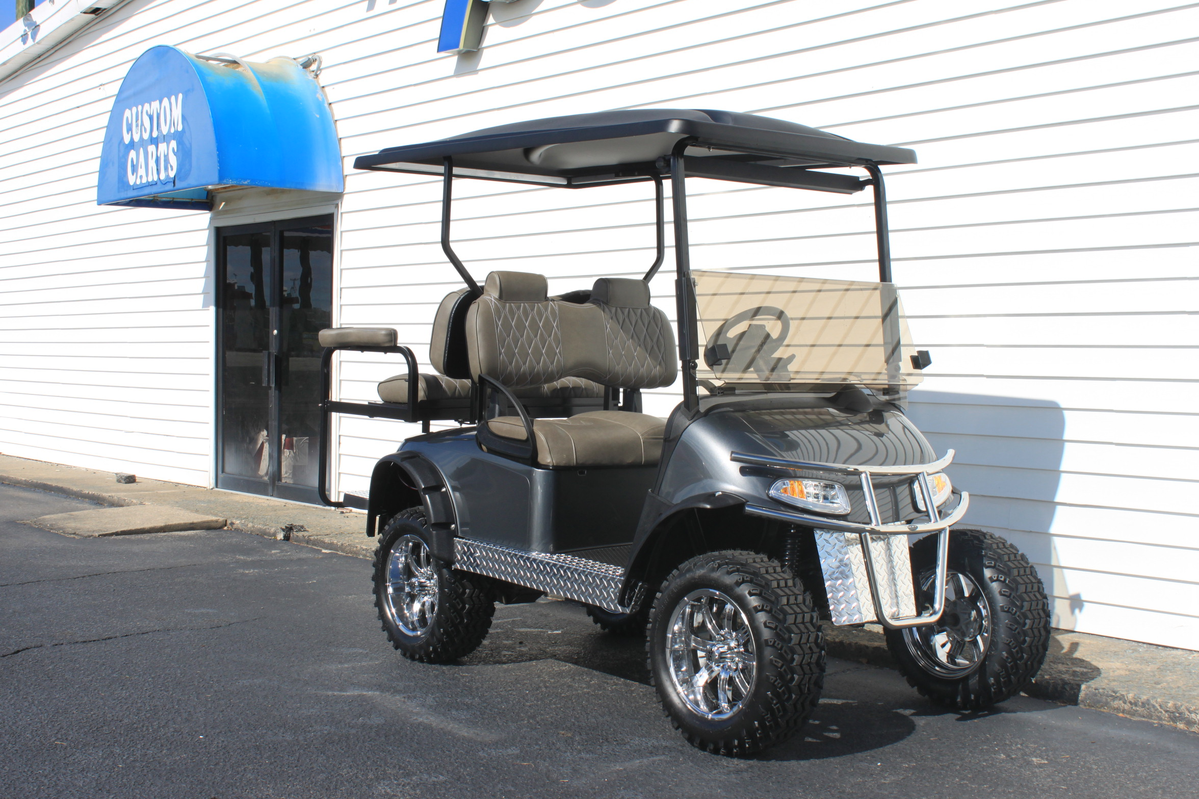 STOCK# 5400686, 2016 E-Z-GO RXV, 48 VT GOLF CART