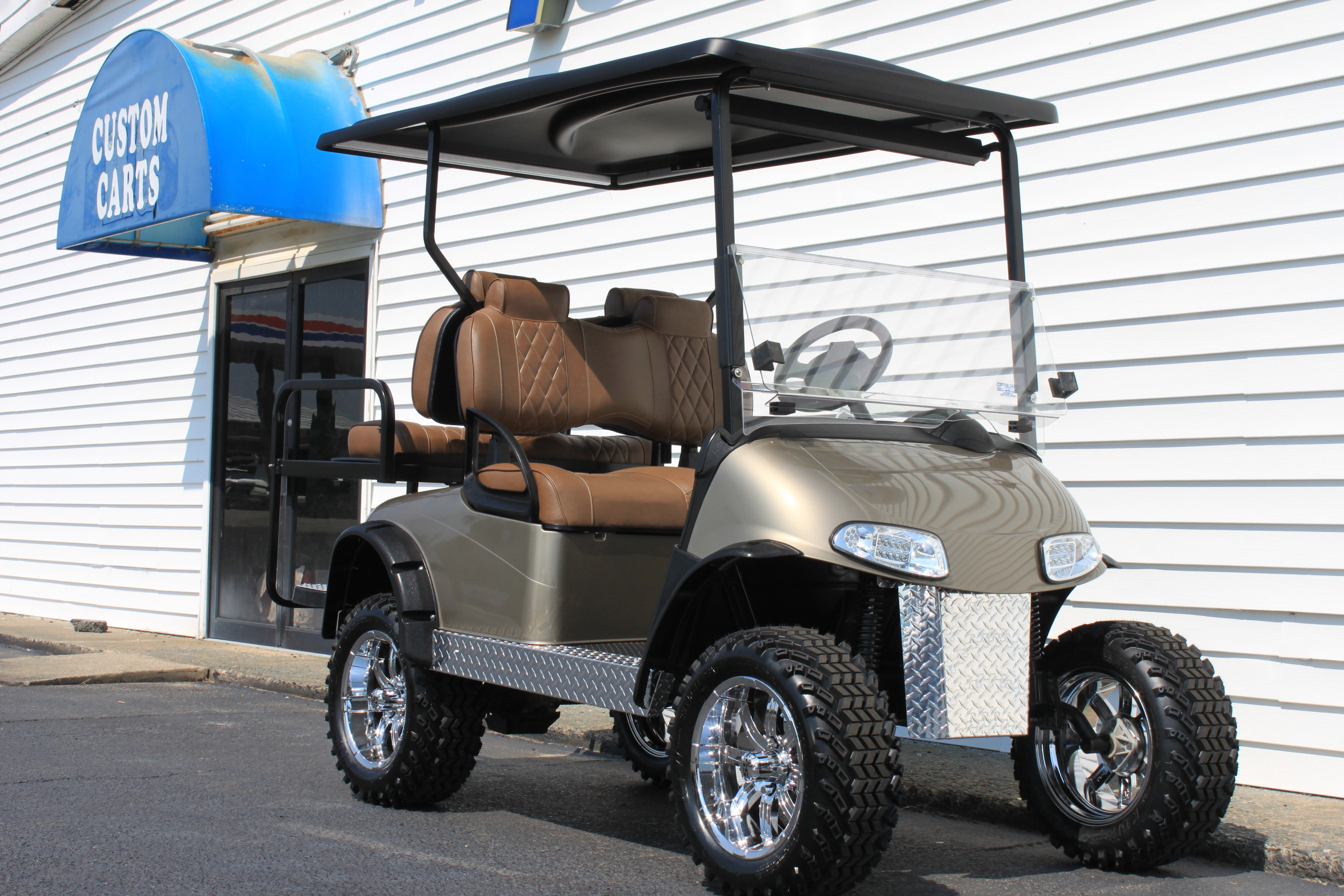 STOCK# 5408345, 2016 E-Z-GO RXV, 48 VT GOLF CART