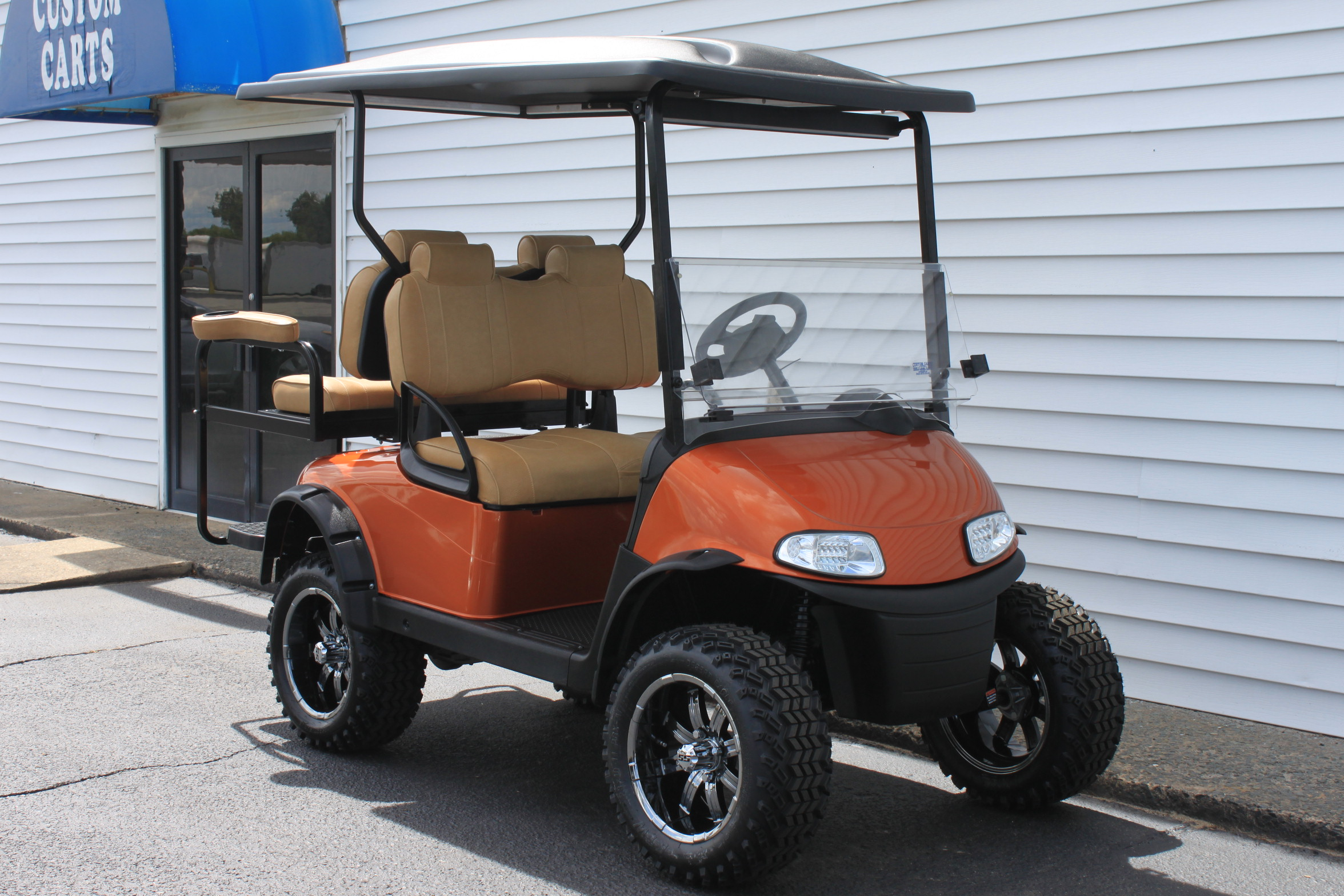 STOCK# 5443639, 2017 E-Z-GO RXV, 48 VT GOLF CART