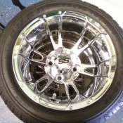 12 Inch Chrome SS Wheels