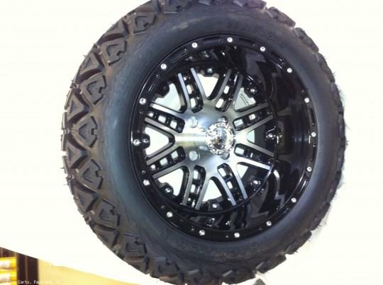 14 Inch Black MegaStar Wheels
