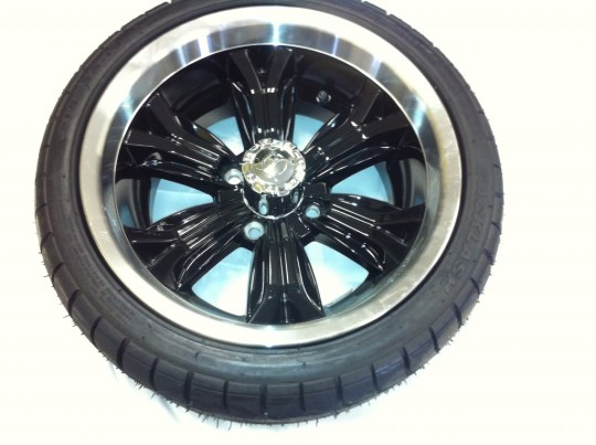 14 Inch Black Optimus Wheels