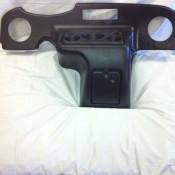 Black Console Dash RXV