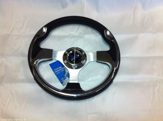 MadJax Custom Aluminum Razor Steering Wheel