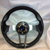MadJax Custom Carbon Fiber Volt Steering Wheel