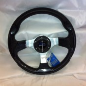 MadJax Custom Carbon Fiber Razor Steering Wheel