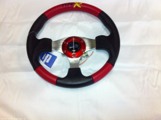 MadJax Custom Type-R Steering Wheel