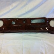 Club Car Regal Burl Elite Dash